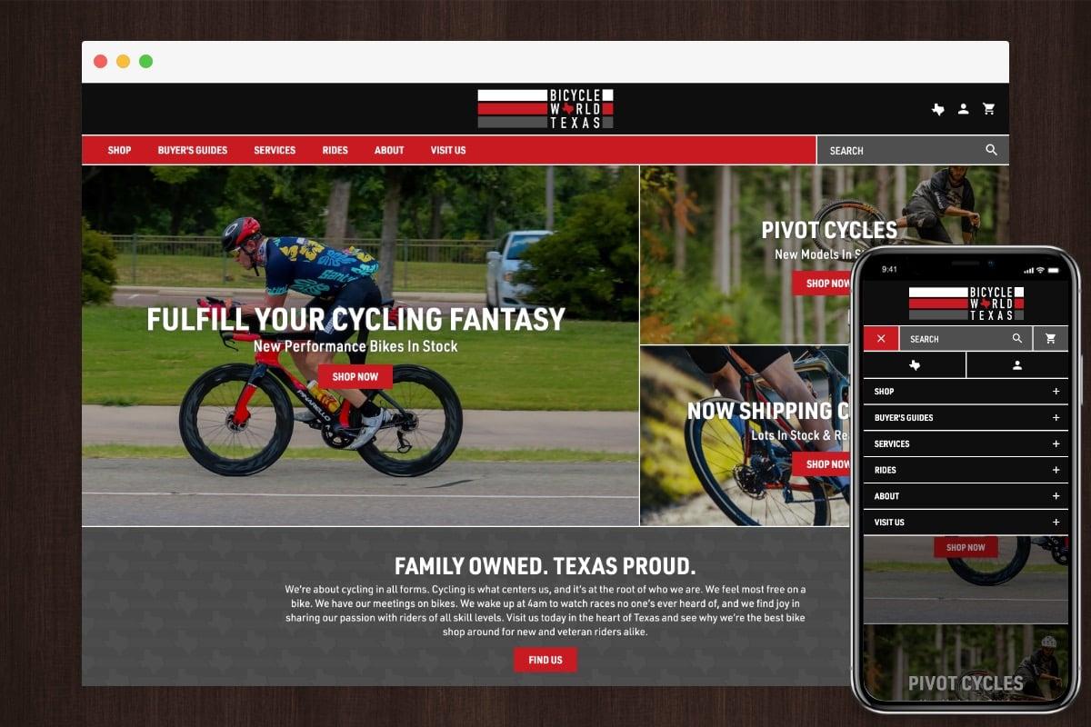 Bicycle World Texas