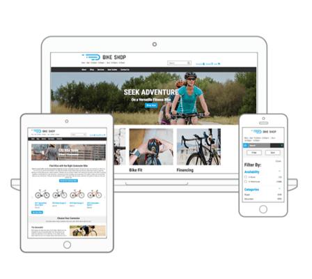 SmartEtailing website for bike shops