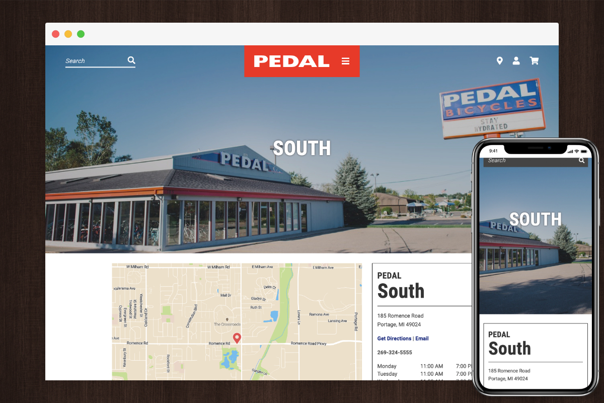 Locations Example - Pedal Bicycle