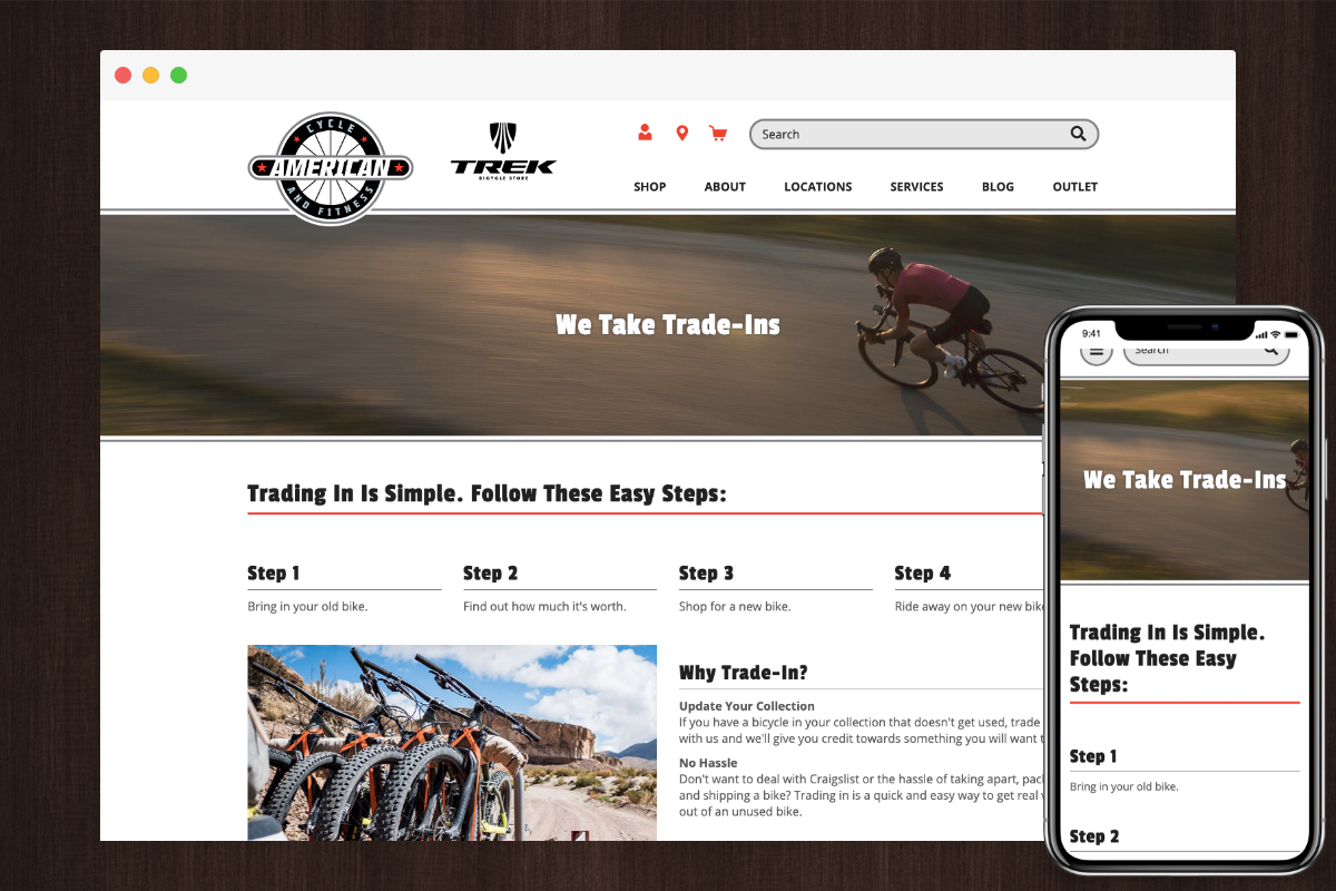 Trade-In Example - American Cycle & Fitness