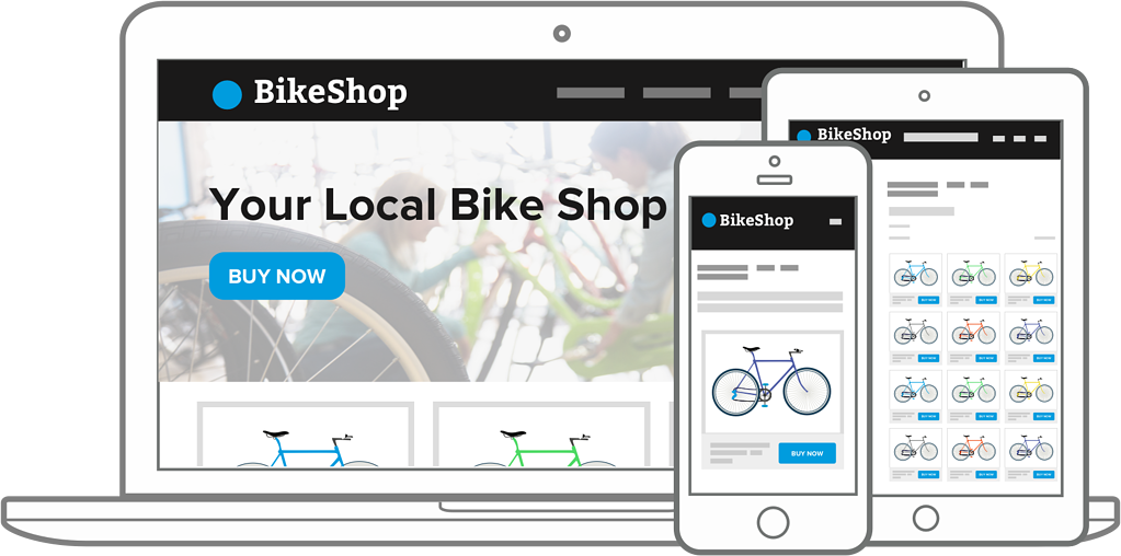 Show your local bike shop inventory online