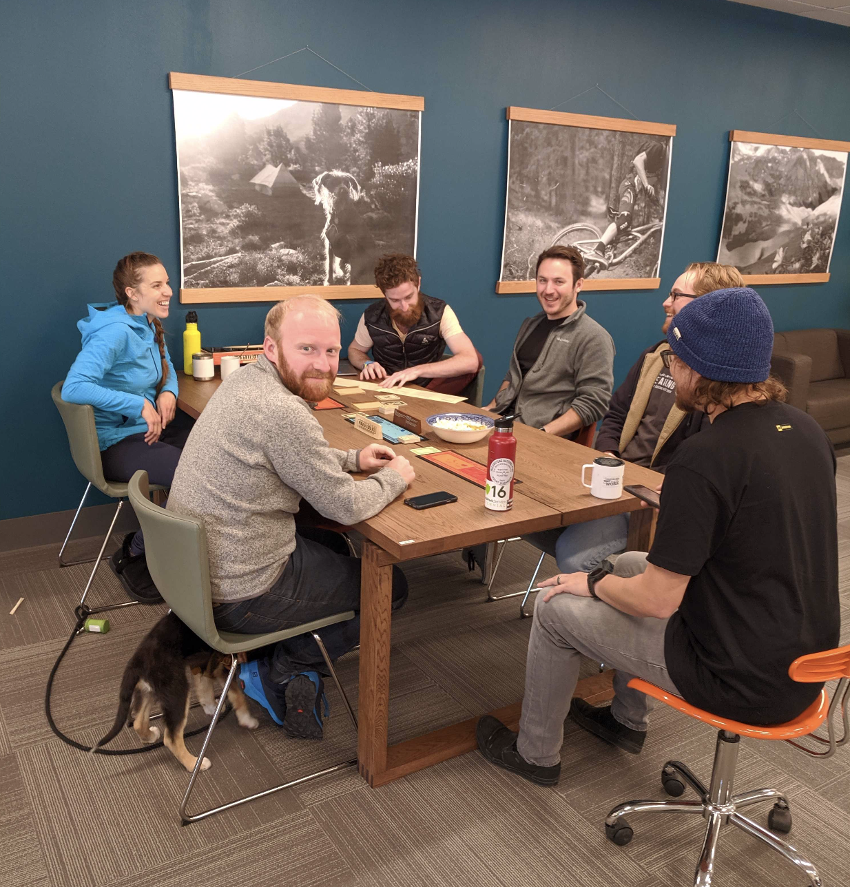 Game night at the SmartEtailing office