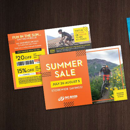 Summer Sale Mailers